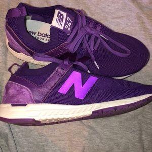 Purple new balances